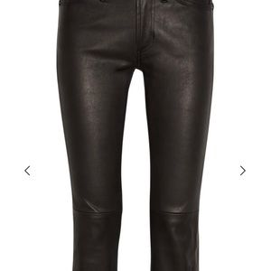 Notify 100% leather pants flare perfect condition